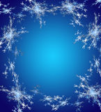 Blue Christmas background in elegant style. Royalty Free Stock Images