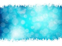 Blue Christmas Background. EPS 10 Royalty Free Stock Photography