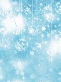 Blue Christmas Background. EPS 10 Royalty Free Stock Photo