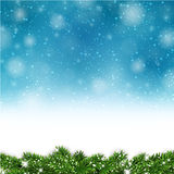 Blue christmas background. Stock Images