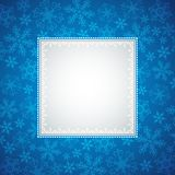 Blue christmas background,  illustration Stock Photography