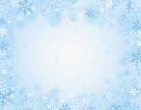 Blue christmas background,  illustration Royalty Free Stock Image