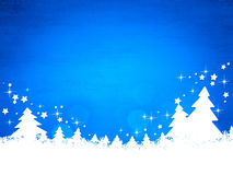 Blue christmas background. An image of a nice blue christmas background Royalty Free Stock Photo
