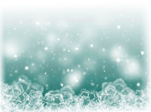 Blue Christmas background .New Year Background Stock Photo