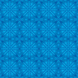 Blue christmas background with seamless pattern. Ideal for print. Ing onto fabric and paper or scrap booking. Vector illustration Royalty Free Stock Image