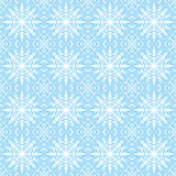 Blue christmas background with seamless pattern. Ideal for print. Ing onto fabric and paper or scrap booking. Vector illustration Stock Photography