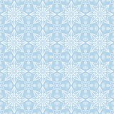 Blue christmas background with seamless pattern. Ideal for print. Ing onto fabric and paper or scrap booking. Vector illustration Stock Image
