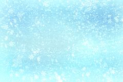 Free Blue Christmas Background Snow Texture, Abstraction, Snowflakes Stock Photo - 105809450