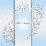 Blue christmas background Royalty Free Stock Image