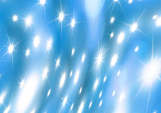 Blue Christmas background universe Royalty Free Stock Images