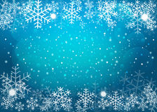 Blue Christmas background. Vector EPS10. Stock Image