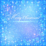 Blue christmas backgrounds. Stock Photo