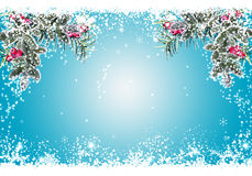 Blue Christmas  Stock Photography