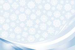 Blue christmas card. Christmas-card  background with snowflakes Stock Image