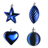 Blue christmas decoration Royalty Free Stock Photo