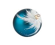 Blue Christmas decoration ball Royalty Free Stock Photography
