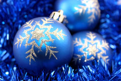 Free Blue Christmas Decorations Stock Images - 22426714