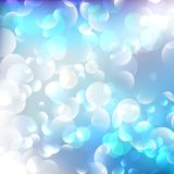 Blue Christmas elegant abstract background. Stock Images