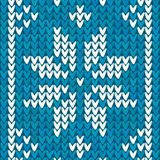 Blue Christmas embroidery vector background. Blue Christmas ornamental embroidery vector background Stock Photo