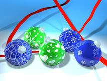 Blue, Christmas Ornament, Product, Product Design Royalty Free Stock Image