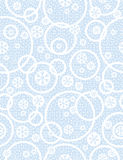 Blue Christmas seamless pattern with snowflakes, vector stock photos
