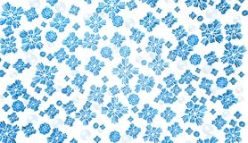 Blue Christmas snow background. Blue Christmas snow best background Stock Photography