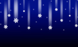 Blue Christmas Snowflake Background Royalty Free Stock Images