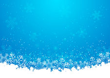 Blue christmas snowflakes background. Christmas snowflakes background for Your design Stock Image