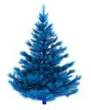 Blue christmas tree Royalty Free Stock Photo