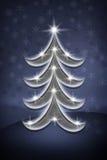 blue christmas tree Στοκ εικόνα με δικαίωμα ελεύθερης χρήσης