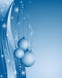 Blue christmas vector Stock Photo