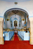 Blue church Royalty Free Stock Photo