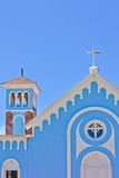 Blue Church Stock Images