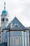 Blue church Stock Photos