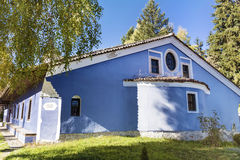 Blue church in the  Revival town of Koprivshtiza. Stock Image