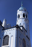 Blue Church Royalty Free Stock Photography