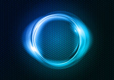 Blue circle Royalty Free Stock Image