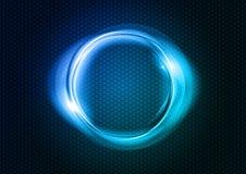 Blue circle Royalty Free Stock Image