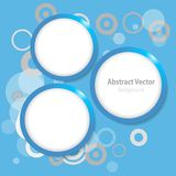 Blue Circle Abstract background stock photos