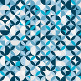 Blue circle background. Graphic design Stock Image
