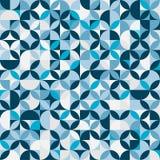 Blue circle background Stock Image