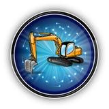 Blue circle stock illustration