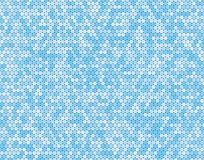 Blue Circle Dot Bubble Mosaic Tiles Background illustration stock