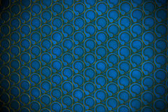 Blue circle flow background Stock Photos