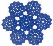 Blue Circle-Kant stock fotografie