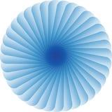 Blue Circle-Patroon om Kleurenontwerp Stock Illustratie