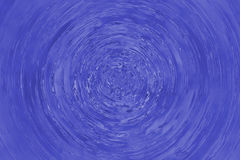 Blue circle water ripple Royalty Free Stock Photography