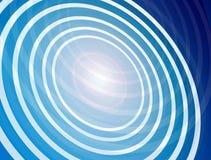 Blue circles Royalty Free Stock Photos