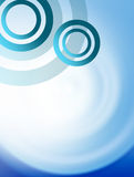 Blue circles Stock Photo