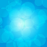Blue circles Stock Photography